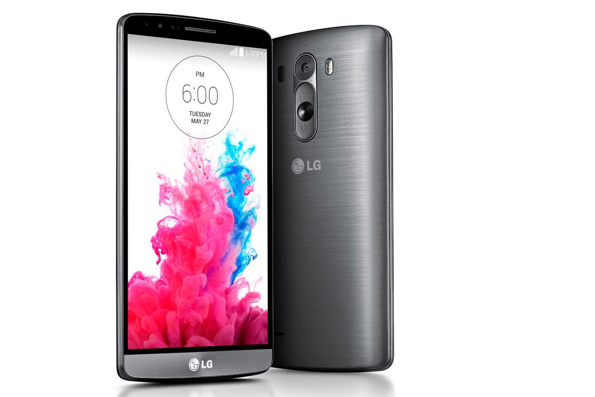 The LG G3 features a 5.5-inch Quad HD display