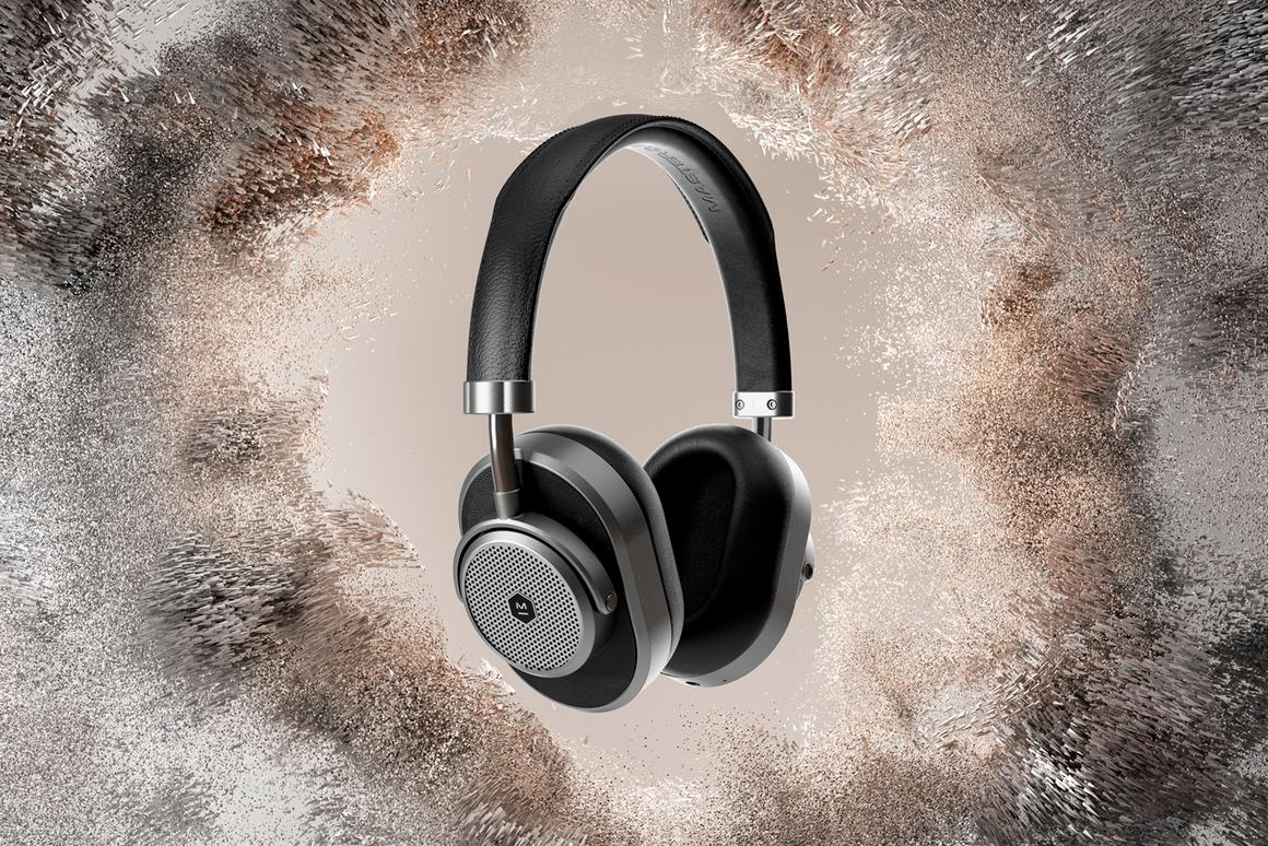 The MW65 Active Noise-Canceling Wireless Over-Ear Headphones are Master & Dynamic's first wireless over-ear wireless headphones to come with active noise-cancellation