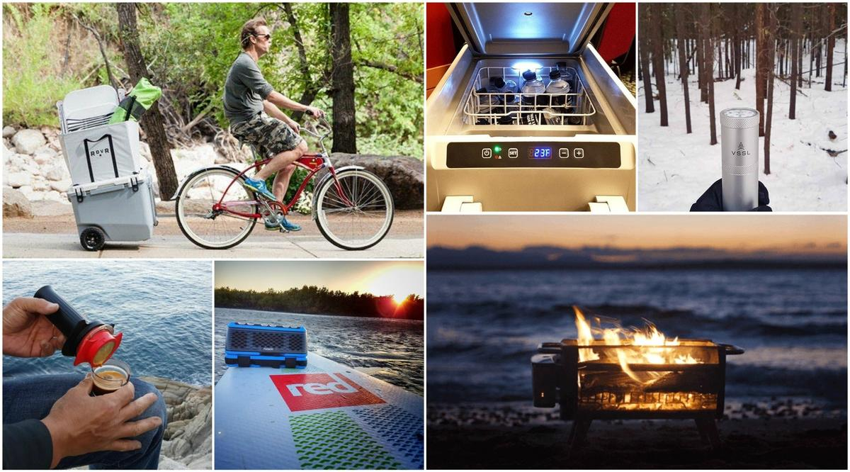 Camping gadgets and gear innovations 2017