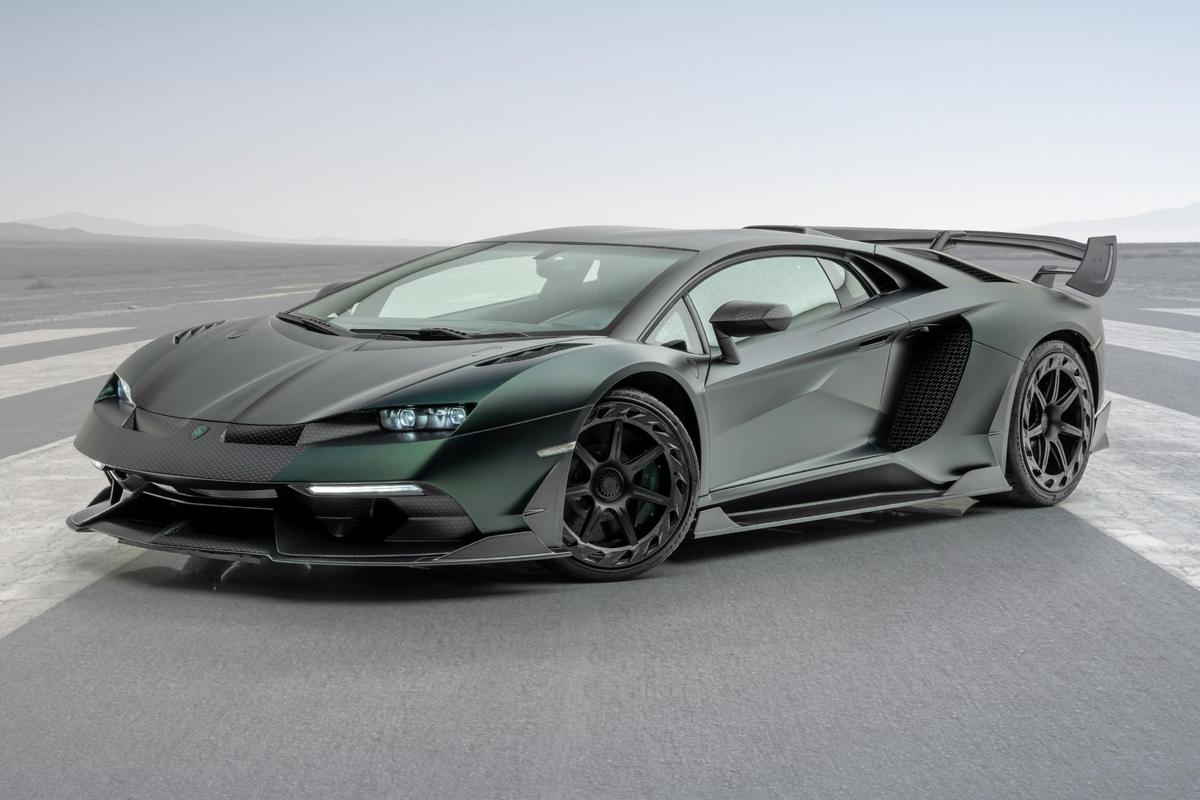 The Mansory Cabrera conversion for the Lamborghini Aventador SVJ