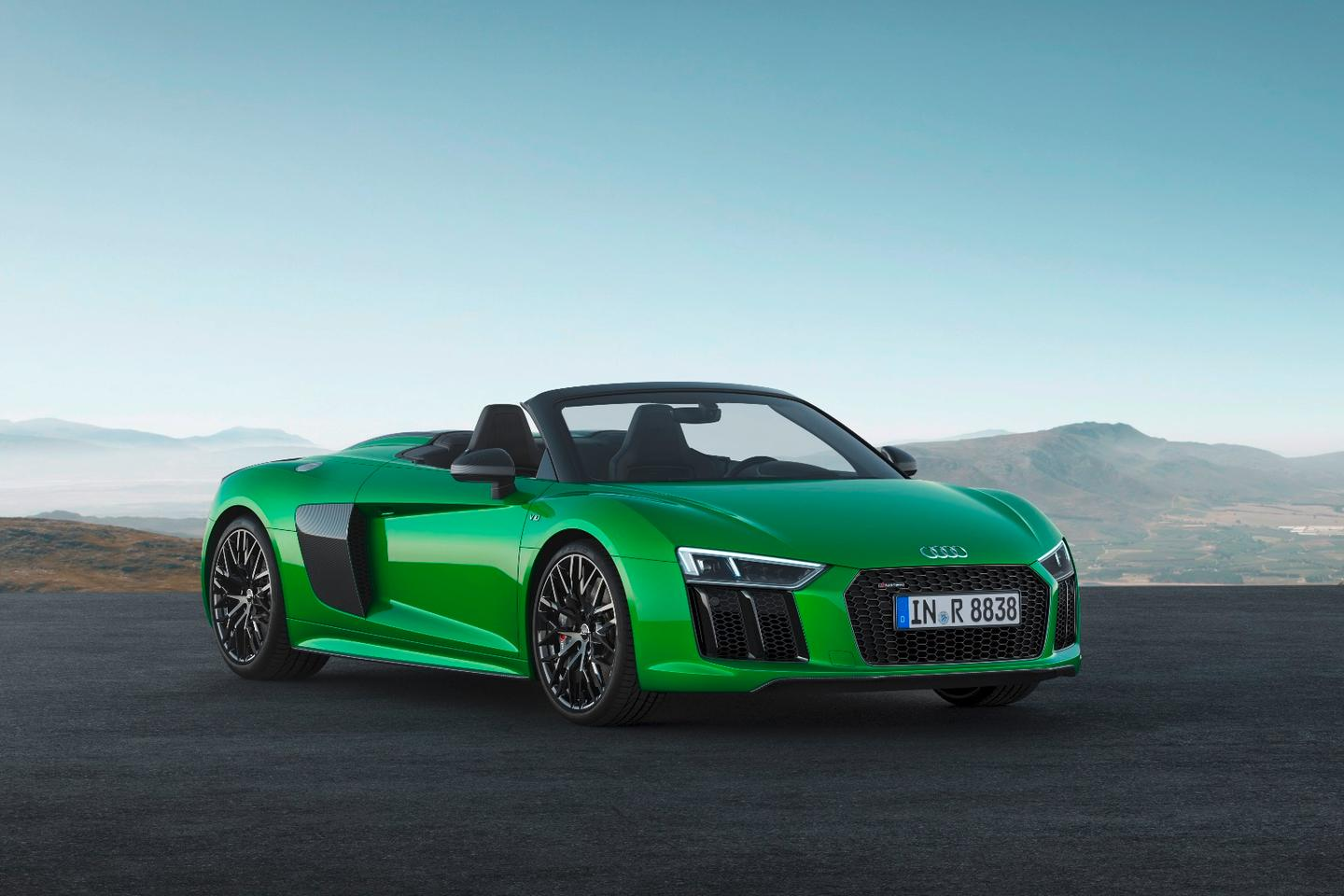 Audi adds some oomph to its R8 Spyder