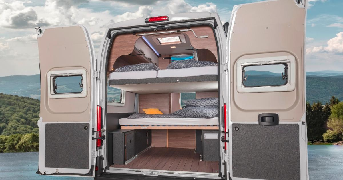 Knaus Boxlife camper van sleeps seven and still loads up with bikes and gear