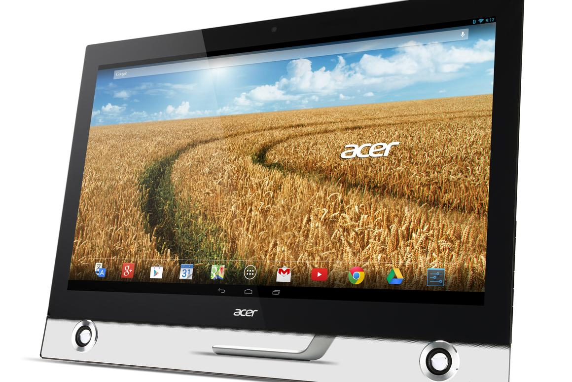 The TA272HUL Android All-in-One computer from Acer