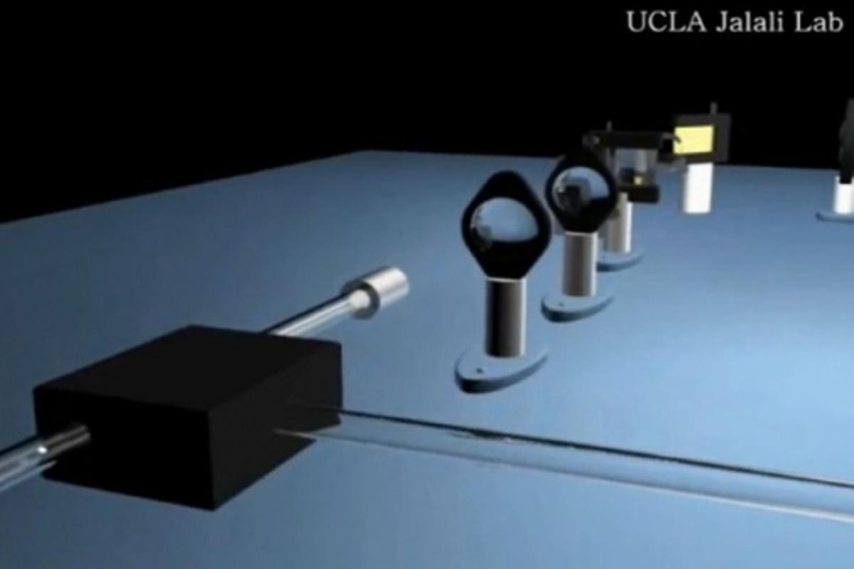 Engineers UCLA have demonstrated a camera that captures images at 6 million frames per second