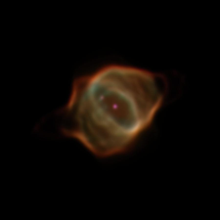 The Stingray nebula as it appeared in 2016, much smaller and dimmer than it was just 20 years earlier