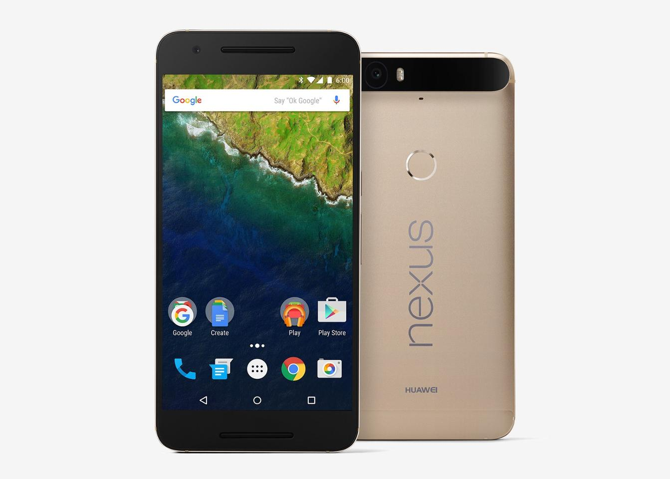 The Nexus 6P is now available in a gold color