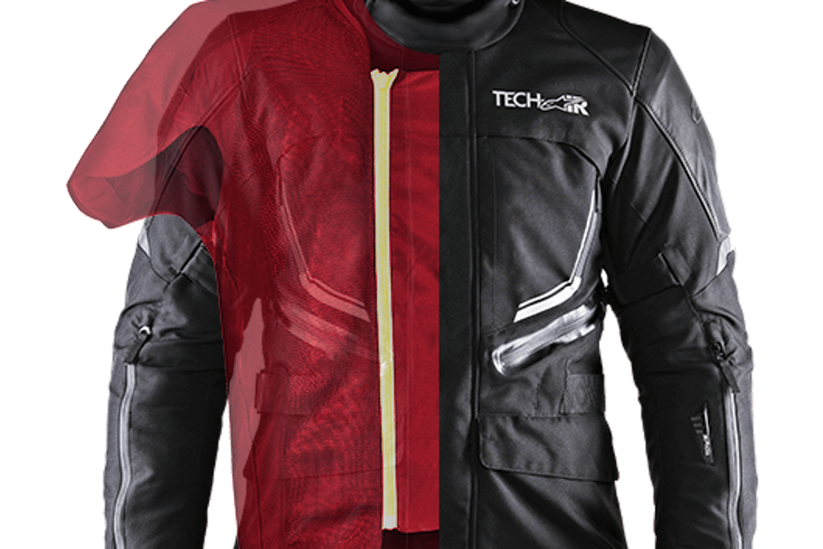 Alpinestars Tech-Air street airbag system will equip a new line of BMW Motorrad jackets