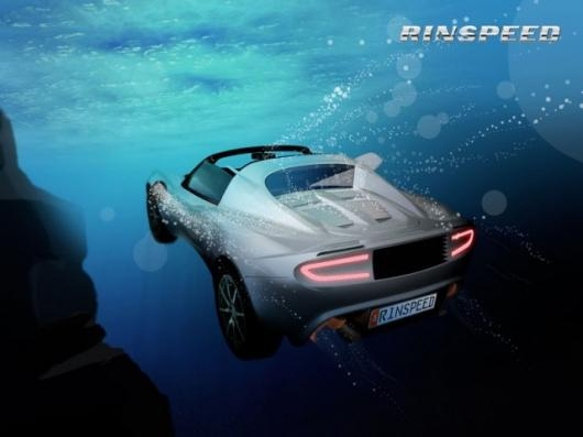 """Rear view - Rinspeed """"sQuba"""" diving Concept"""