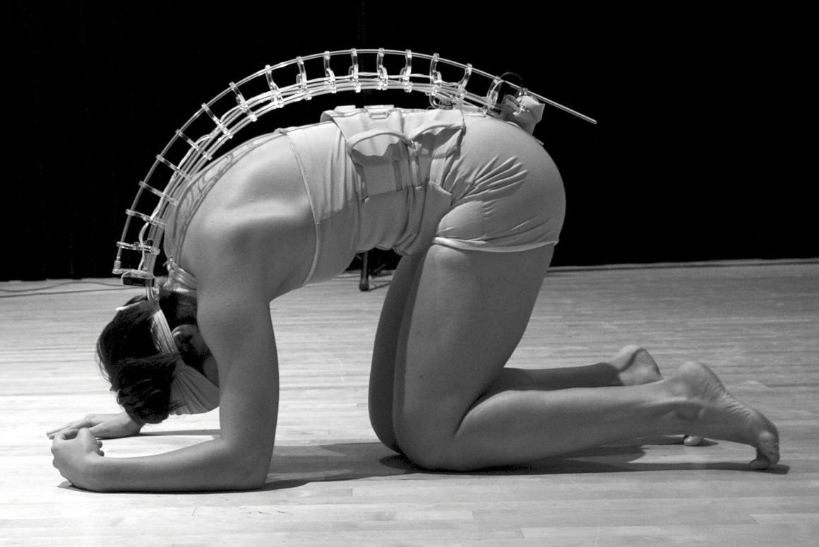 The Spine digital music instrument (Photo: Vanessa Yaremchuk)