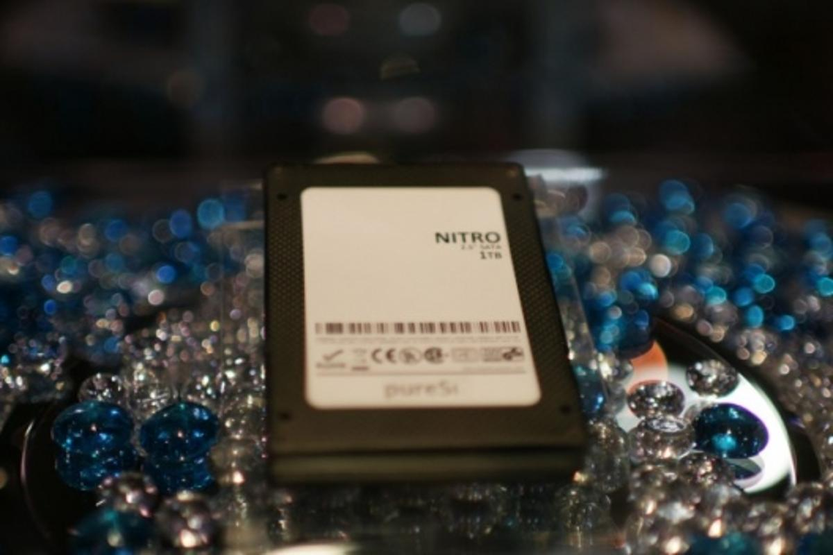 "pureSilicon's Nitro SSD, 1TB in a 2.5"" package"