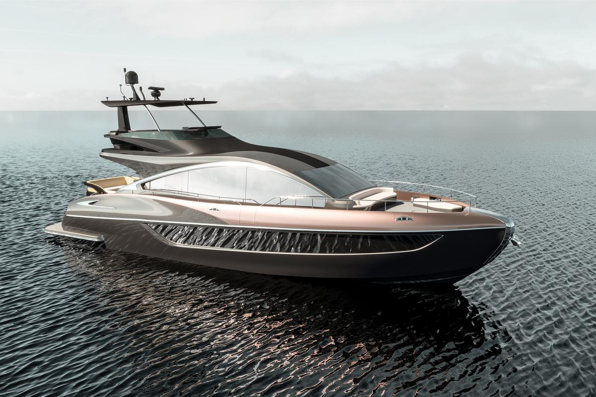 Lexus has previously said sales of its luxury yacht will begin in the second half of 2019