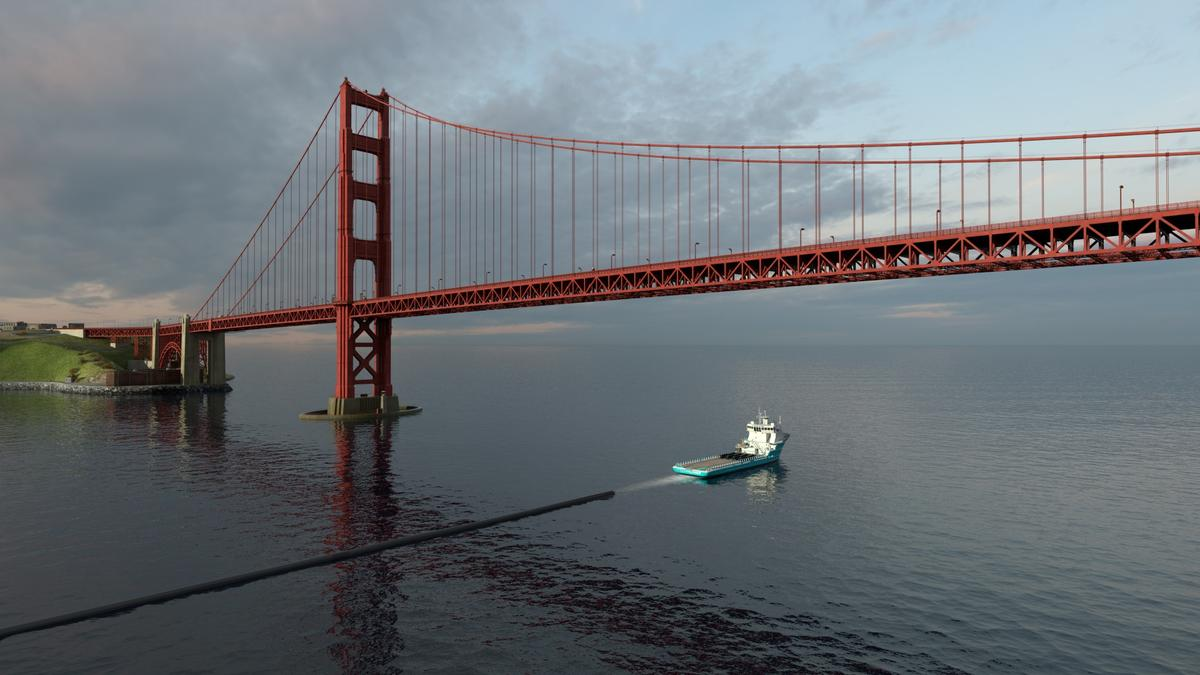 The Ocean Cleanup project plans to tow Cleanup System #1 out into the Pacific midway through 2018