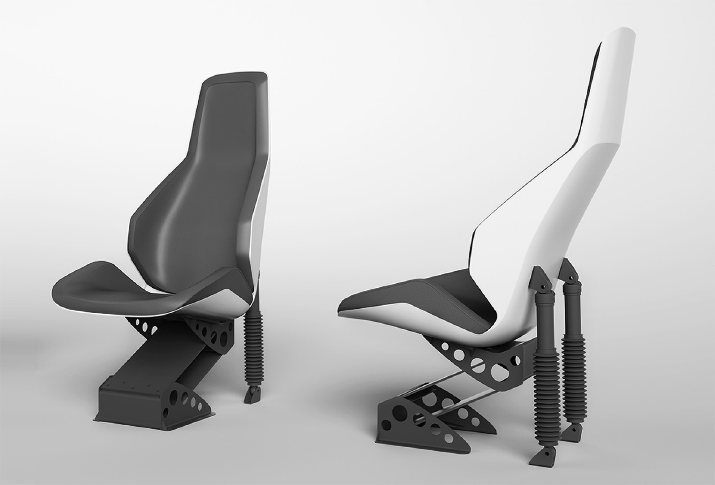 Iguana's shock-mitigating seats will make all the difference in terms of comfort