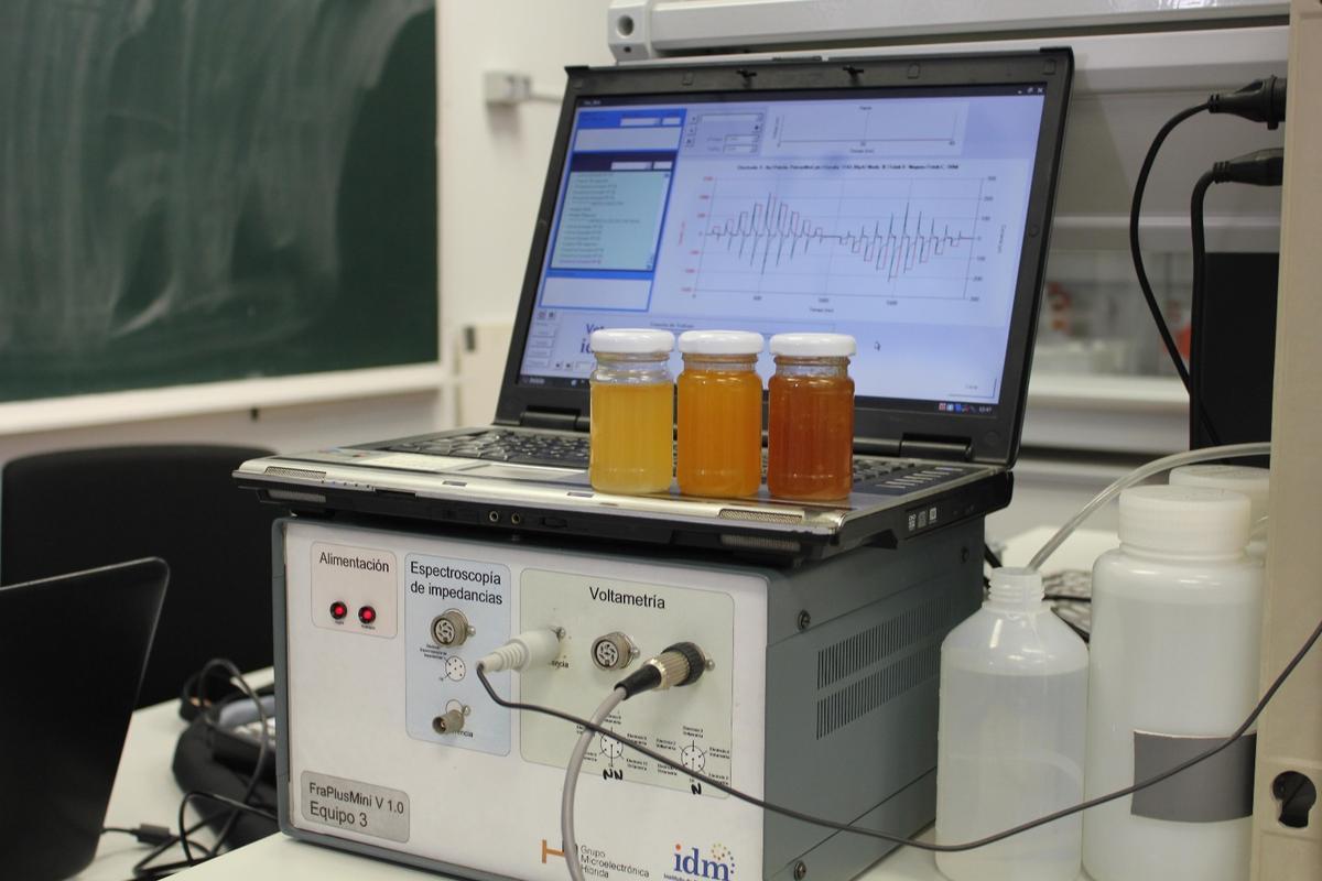 UPV's honey-analyzing electronic tongue