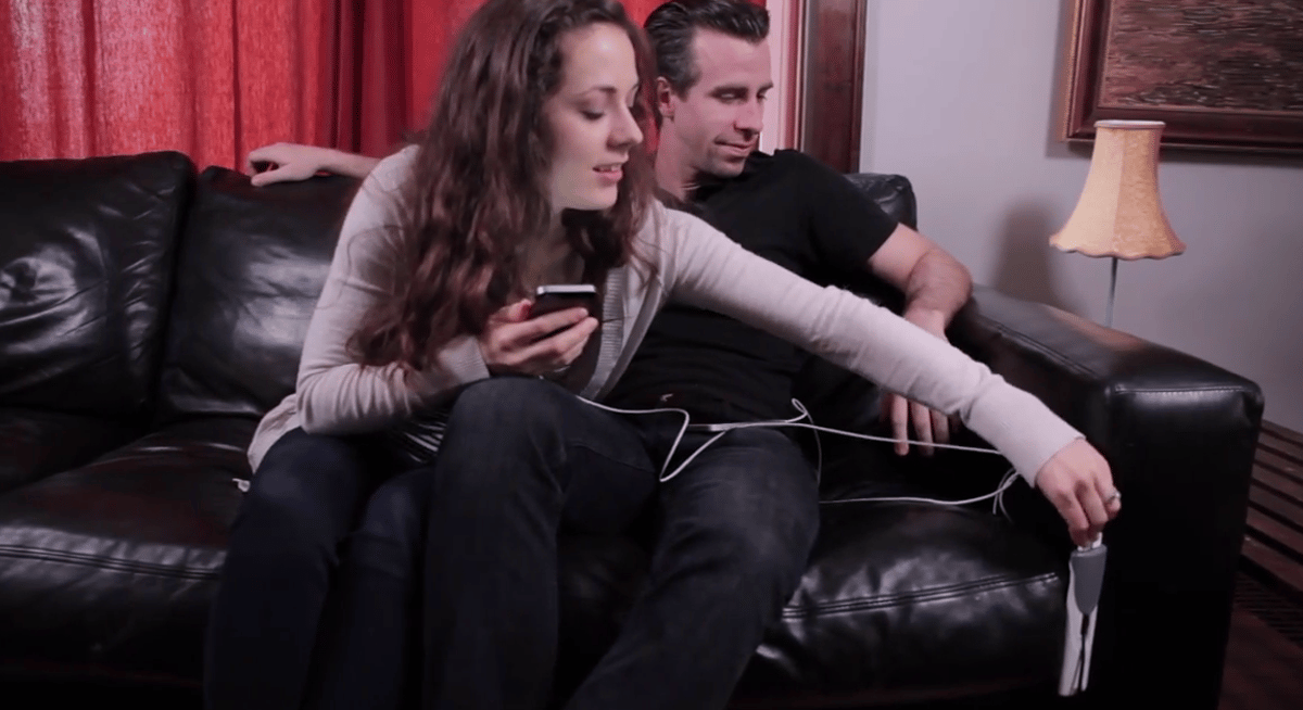 The Couchlet is designed to make it easy to charge devices from a couch or bed