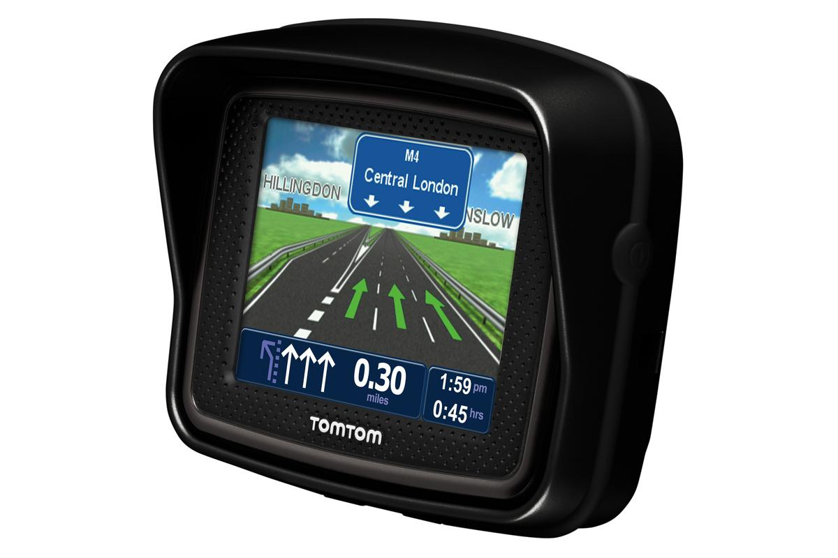 TomTom has made gloved GPS navigation simpler with the introduction of the Urban Rider