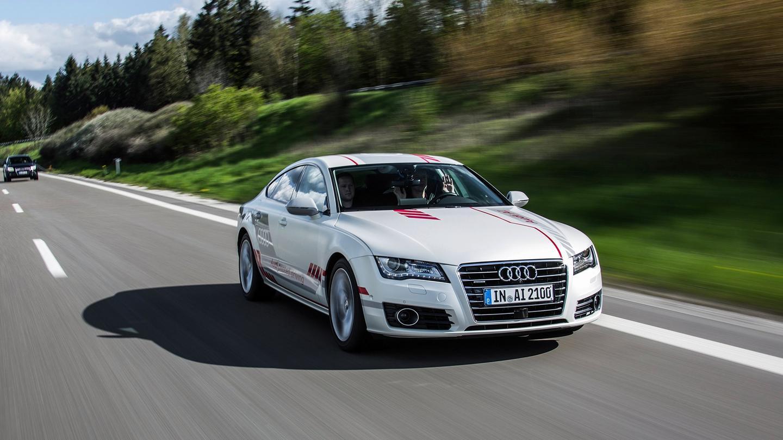 Piloted A7 that Audi calls Jack