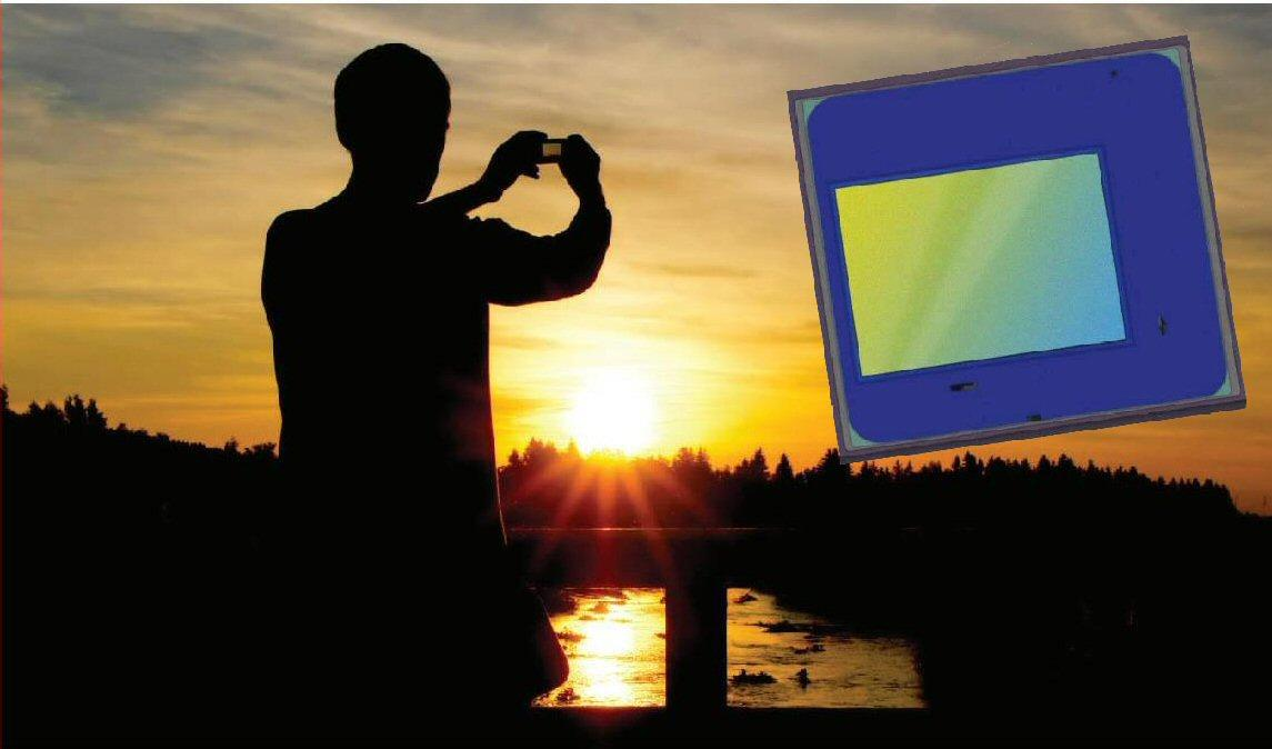 Mobile device imaging sensor manufacturer OmniVision has announced the development of a slim CMOS camera sensor based on its 1.1-micron, backside-illuminated pixel architecture