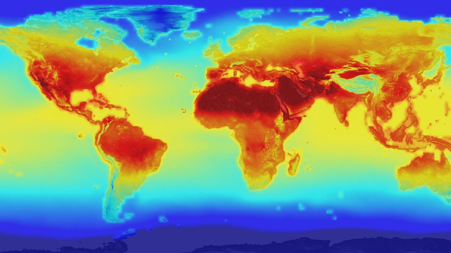 The new data combines historical measurements with climate simulations models to provide forecasts for global temperature and precipitation changes