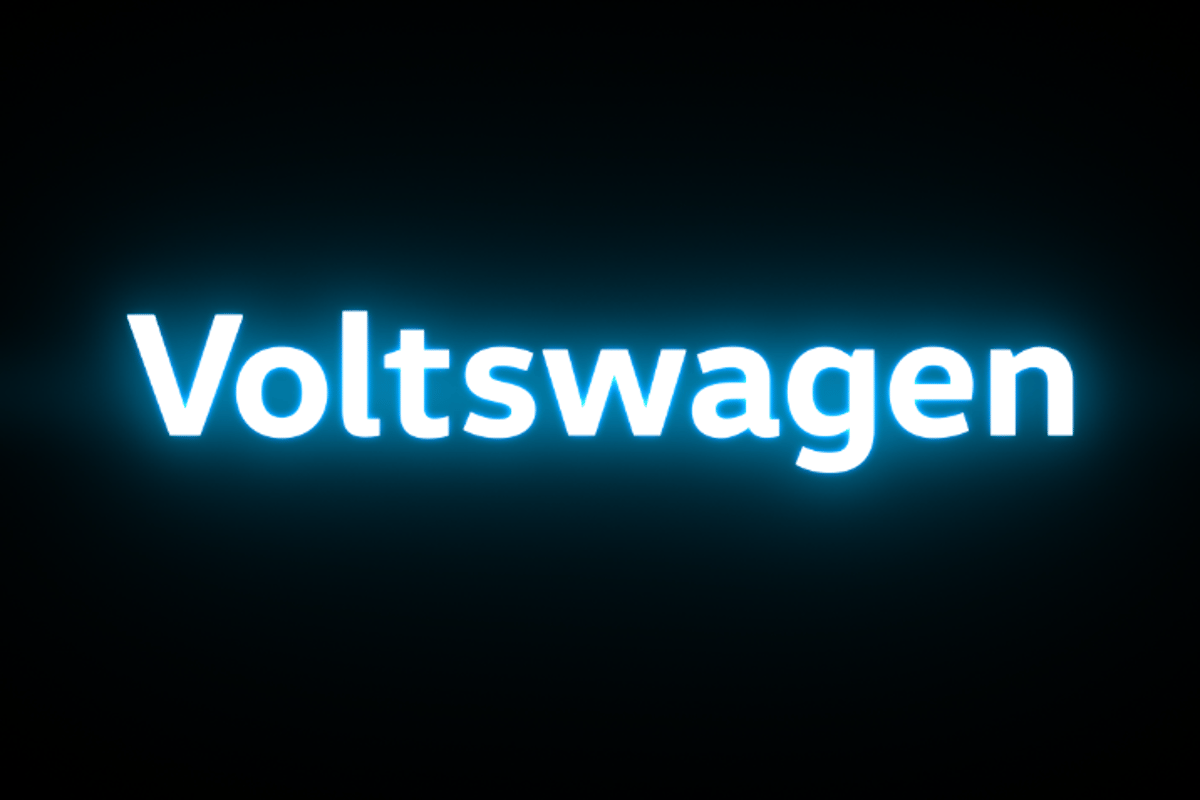 """A new name for a new era of e-Mobility"" says Volks... er, Voltswagen"