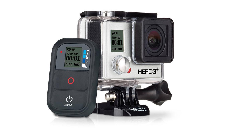 The GoPro Hero3+ Black Edition