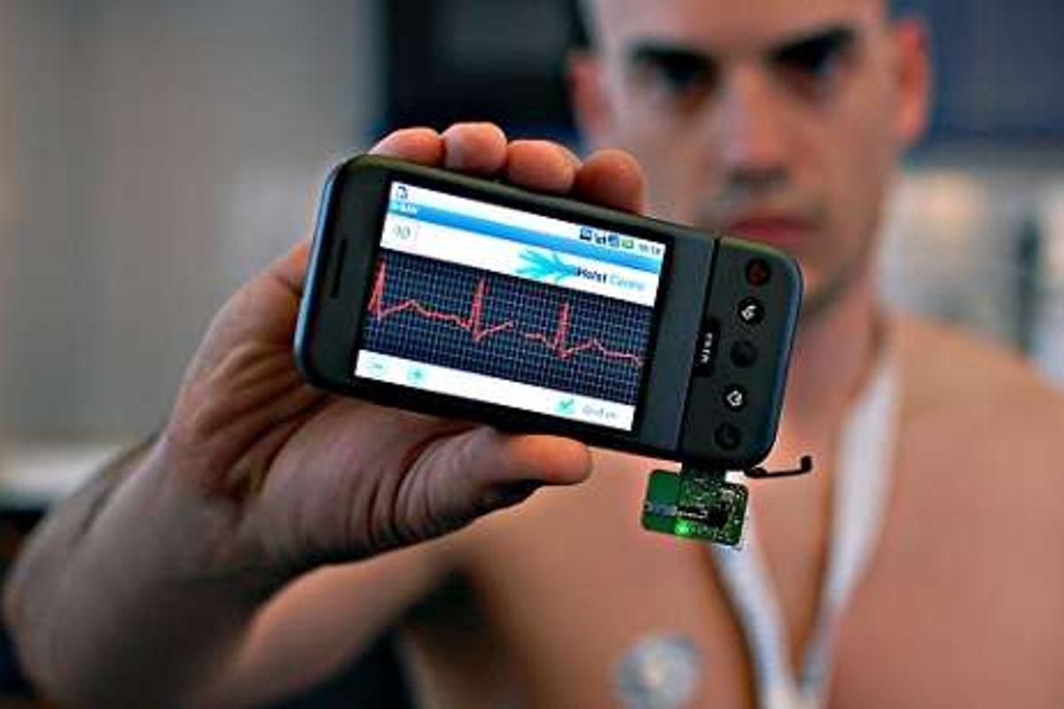 The new IMEC/Holst Center ECG app