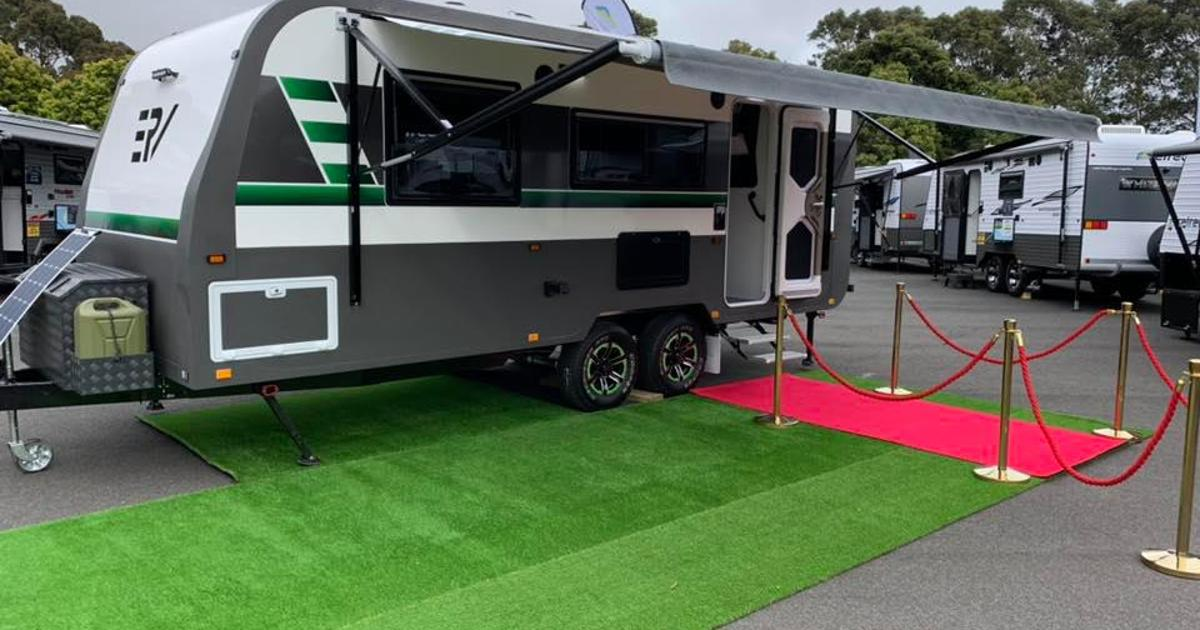 All-electric off-grid glamping trailer ditches gas for solar power