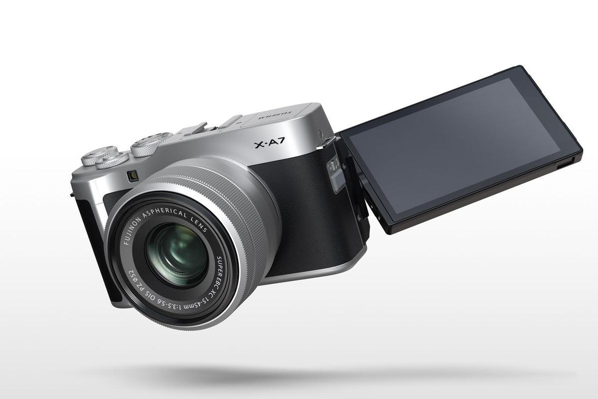 The Fujifilm X-A7 is built around a brand new CMOS image sensor