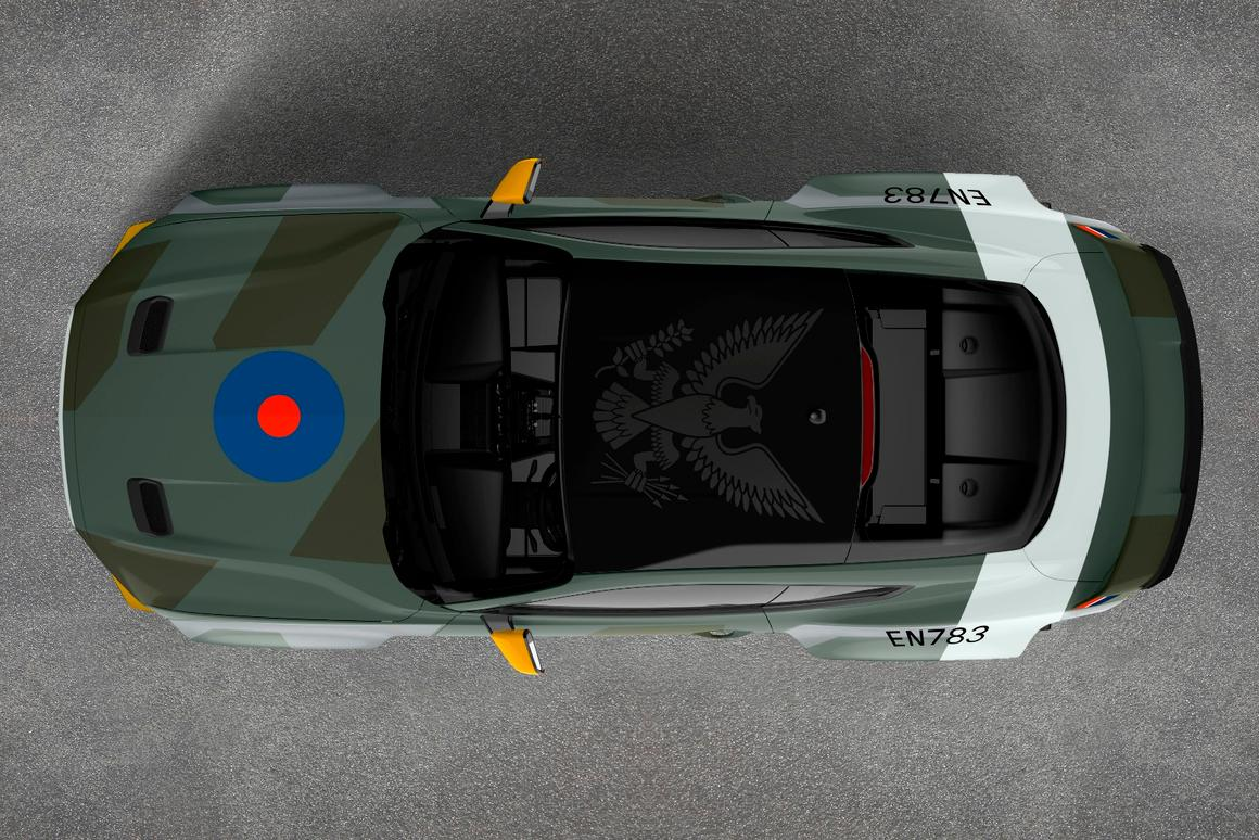 Gittin to fly in one-off Ford Mustang GT Eagle Squadron for