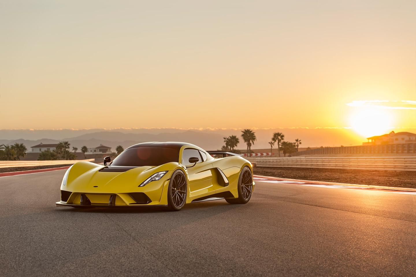 The Hennessey Venom F5 has a chance to be the first production car to go faster than 500 km/h