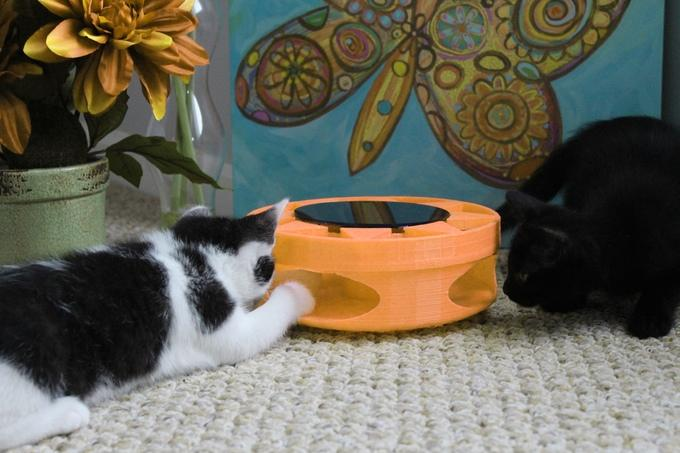 IrresistiCat is designed by Solar Chaser, a firm responsible for a solar-powered cat toy released in 2013