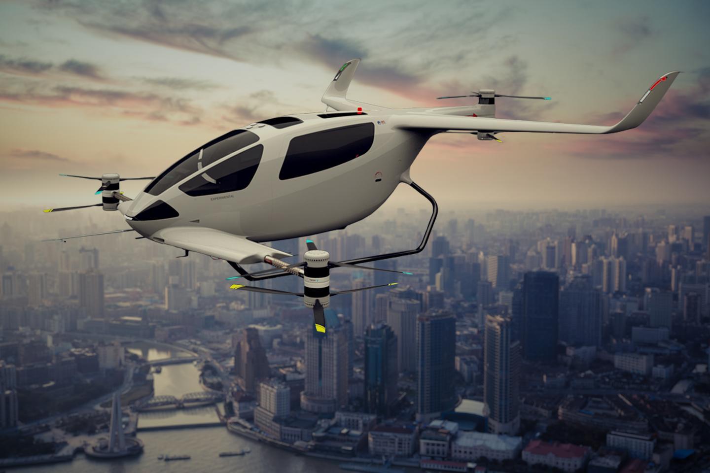 The Y6S Plus, a six-seat eVTOL air taxi concept from the UK's Autonomous Flight