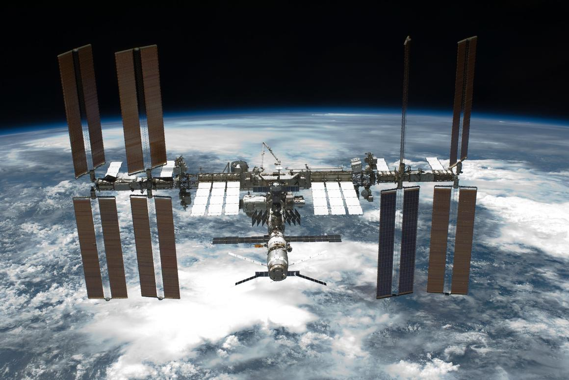 The contracts cover cargo flights by three private companies to the International Space Station