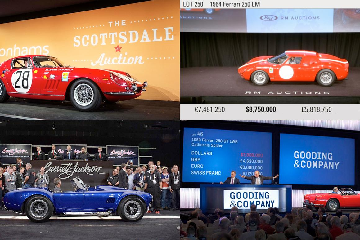 Scottsdale Rare Car Auctions – 41 cars that sold for more