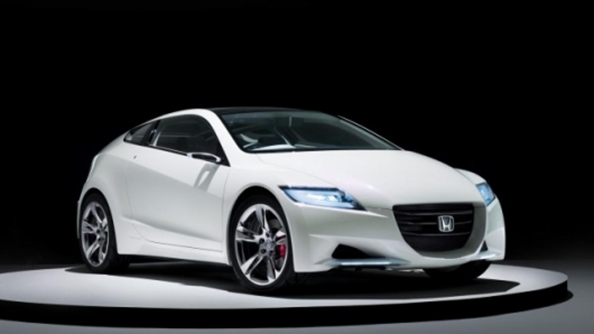 The new Honda CR-Z combines futuristic styling, sporty handling and hybrid-powered performance