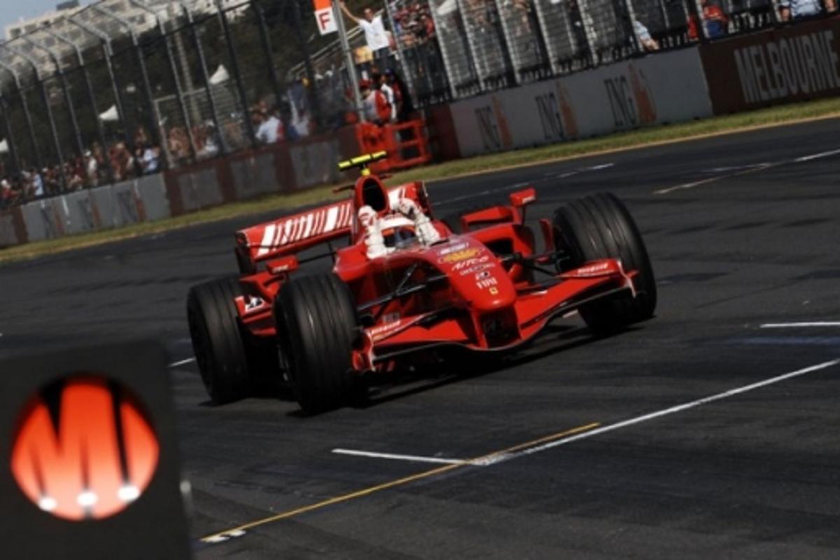 Kimi Raikkonen at the 2007 Australian Grand PrixPhoto: Ferrari