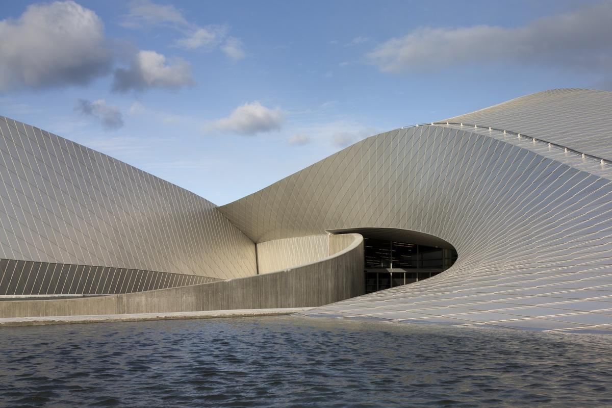The Blue Planet aquarium designed by Danish architectural studio 3XN is now open for visitors