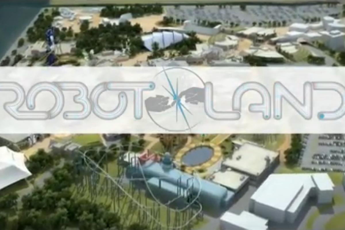 Robot Land would immerse thousands of parkgoers in robotics edutainment and research