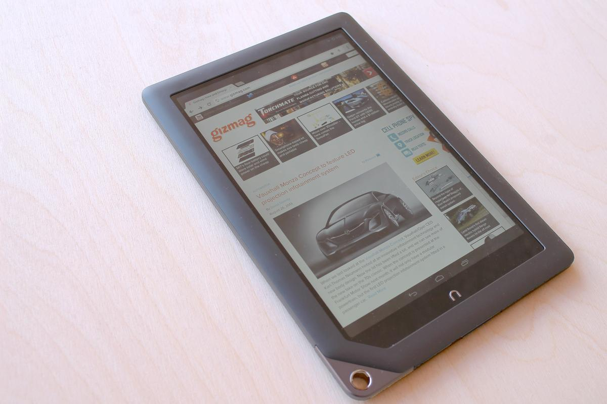 Gizmag revisits the Nook HD+, with the Google Play store and a rock-bottom price
