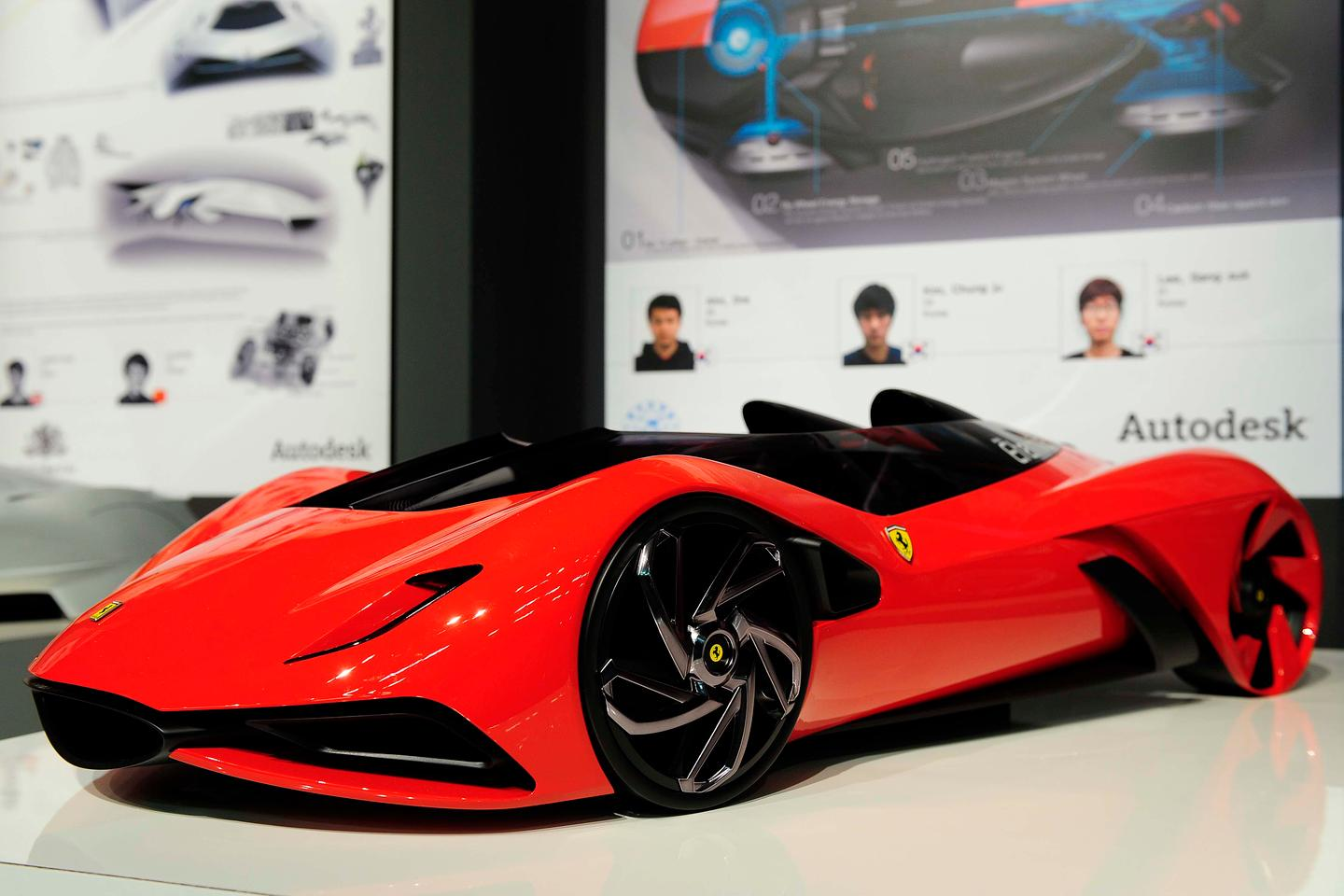 'Eternita,' the winning entry for this year's Ferrari World Design Contest