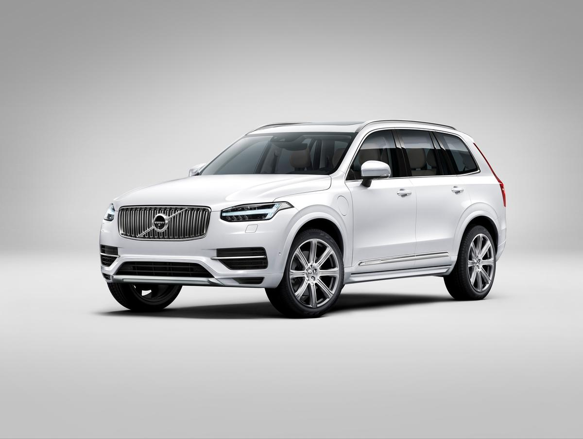Wheels up to 22 inches can be fitted to the new XC90