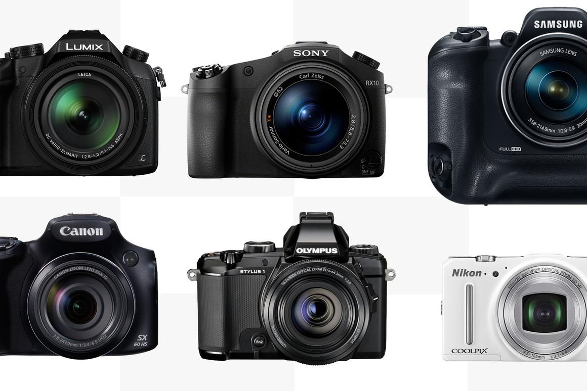 Gizmag looks at the specifications and features of some of the best long-zoom cameras around in 2014