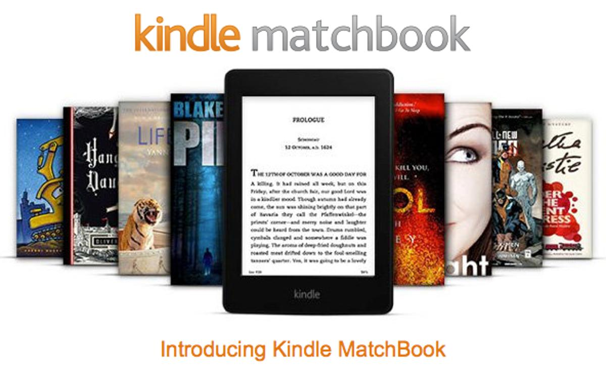 Kindle MatchBook provides ebook copies of your old book purchases
