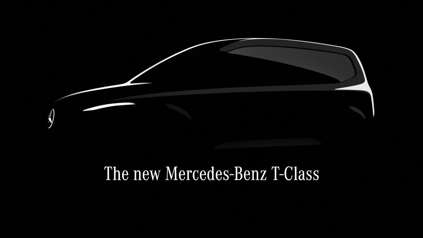 Mercedes first teased the T-Class last July