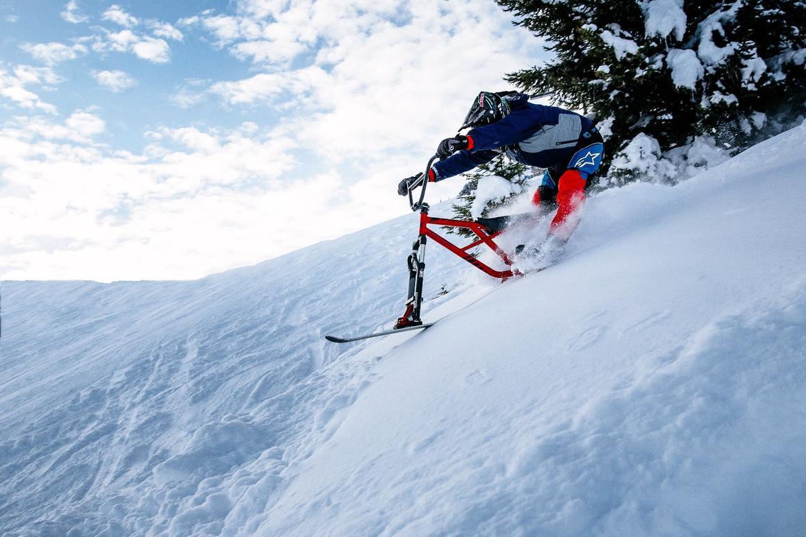 The Hillstrike takes on the slopes