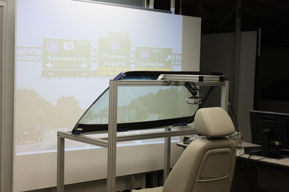 Numerous sensors on the outside of the vehicle would feed data into the system so that important information could be displayed across the whole of the windshield