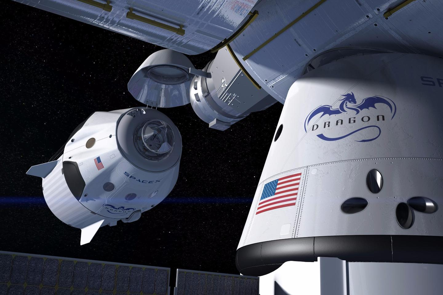 The Crew Dragon's first manned mission was originally scheduled for 2017