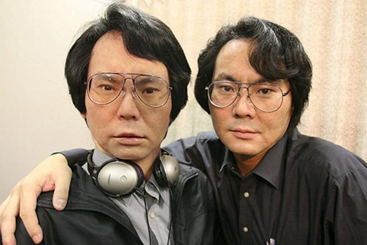 You can own your very own robotic doppelganger, just like roboticist Hiroshi Ishiguro (that's Hiroshi on the right)