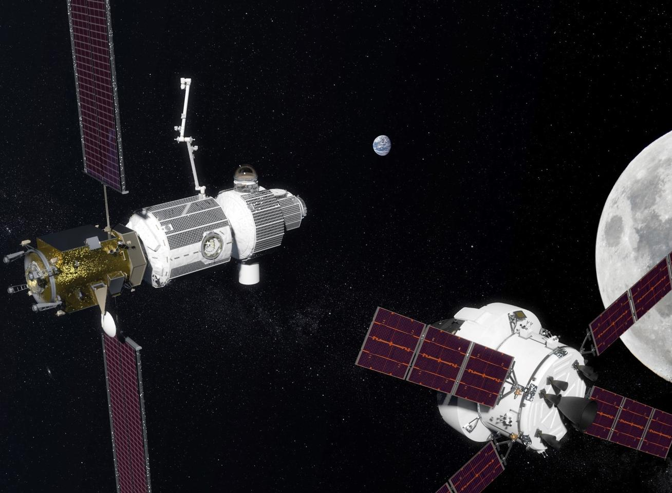 The deep space gateway concept is designed as a jumping off point for deep space manned missions