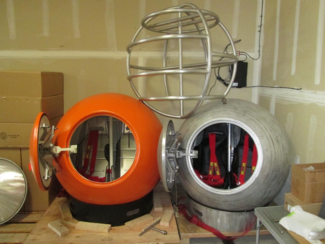 The Survival Capsule prototypes